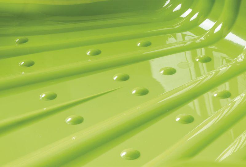 zandbak schelp groen